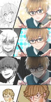 Having the same expression as your drawing by Cioccolatodorima