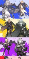 Western Legendary Weapons Danshi- Arthur's Weapons by Cioccolatodorima