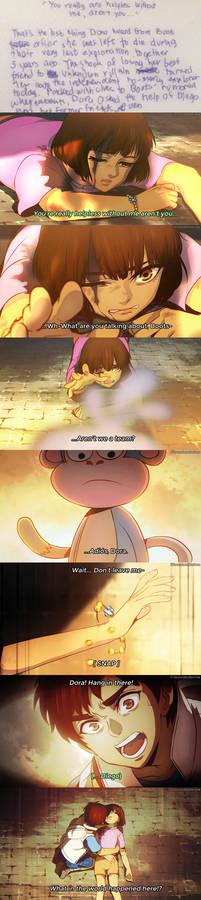 Dora Anime: Boots' Betrayal