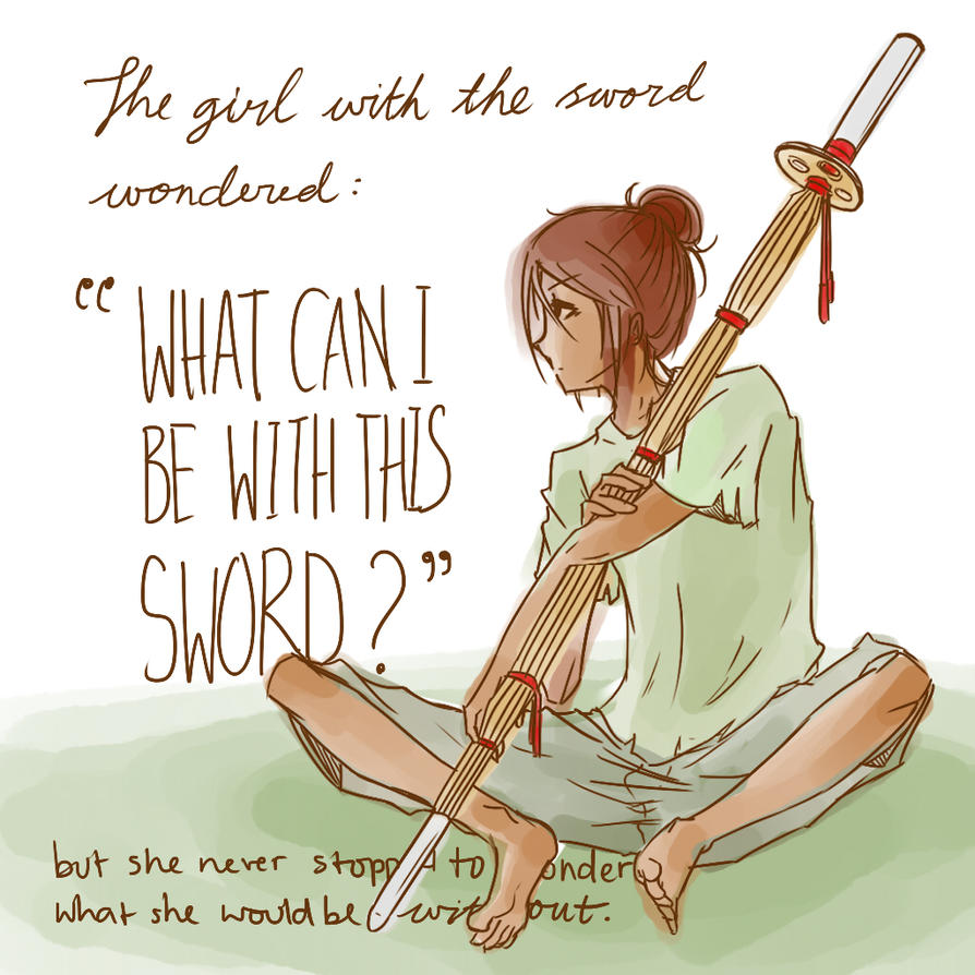 The Girl with the Sword by Melantha963
