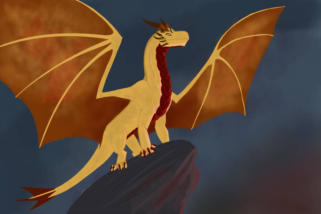 Fire Dragon by GlassScale