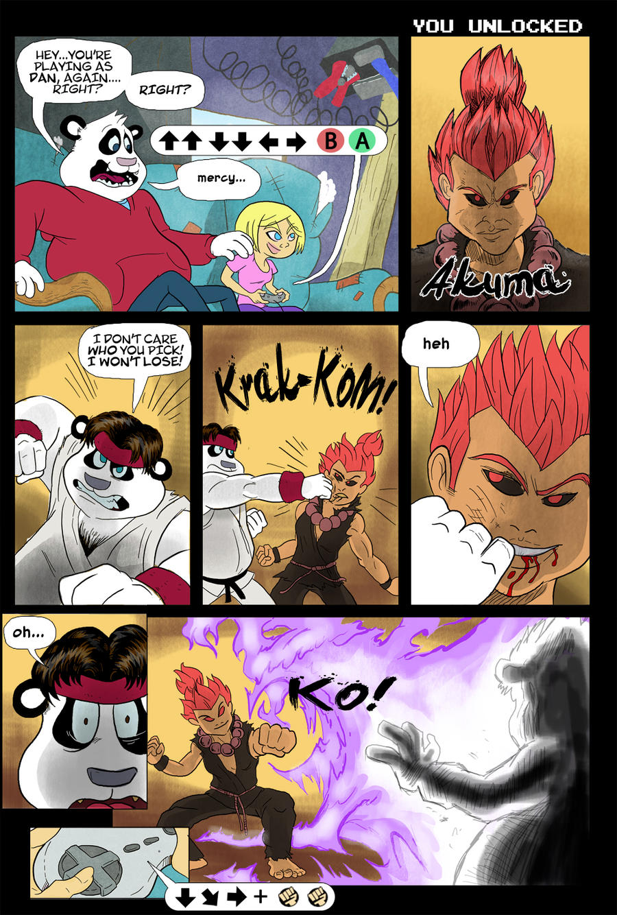Panda Comics #22 by FLAMINGPINECONE