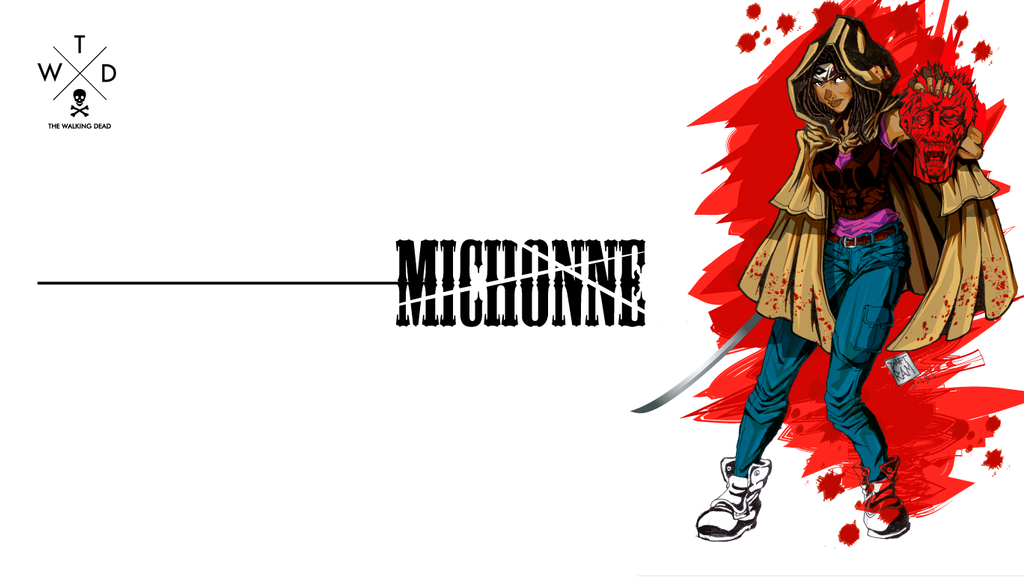 Michonne Wallpaper by daftRAM