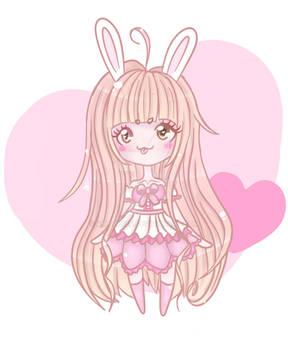 Cute bunny girl~ Chibi (OC)