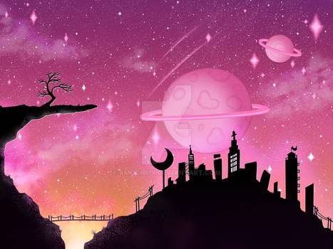 Landscape-Moontropolis