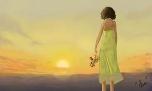 Eleanor's Sunset by Eeveelutionarii