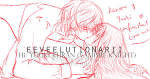 Kaname and Yuuki -Work in Progress by Eeveelutionarii