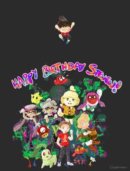Nintendo Birthday Madness! -Splatoon Style