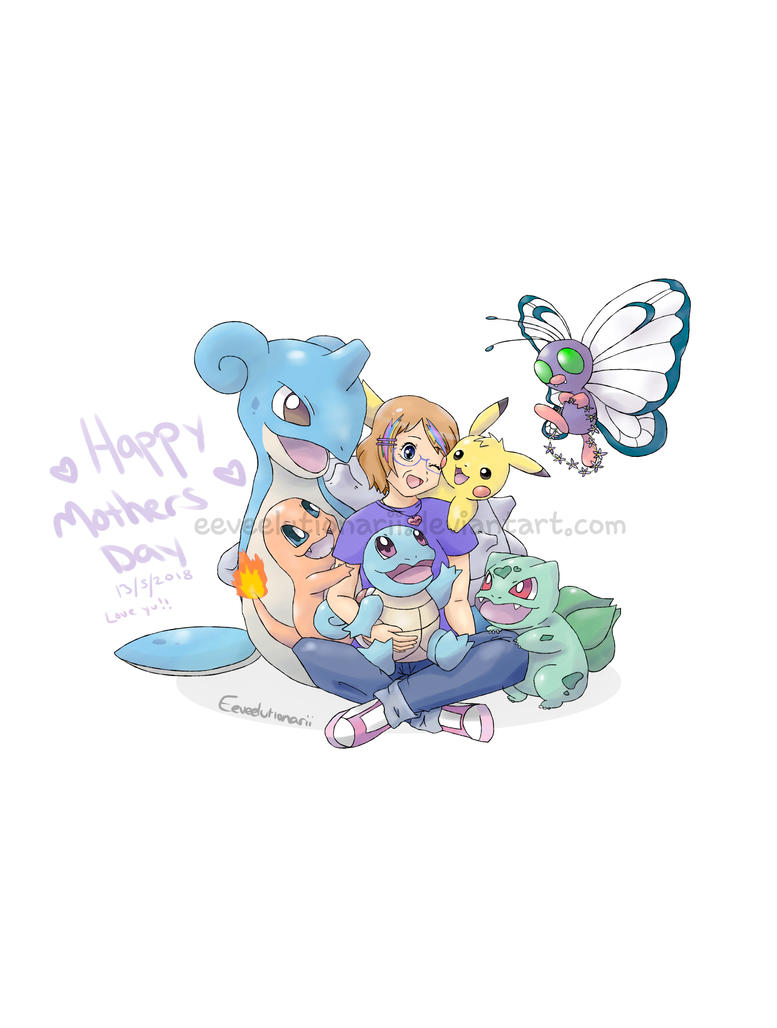 Mothers Day Pokemon Team by Eeveelutionarii
