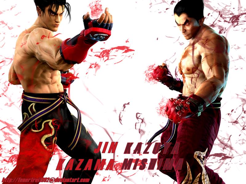 jin kazama wallpaper. T:DR: Jin and Kazuya Wallpaper