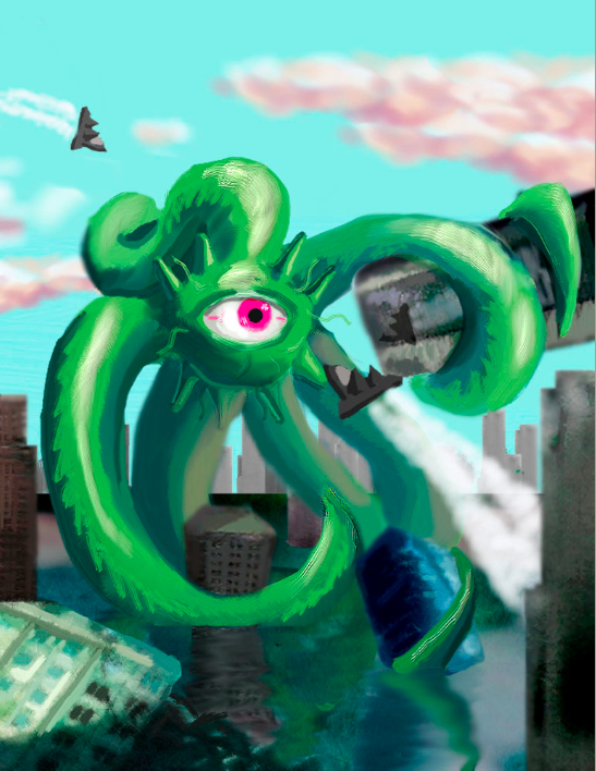 The Wrath of Shuma-Gorath by EdmondDantes23