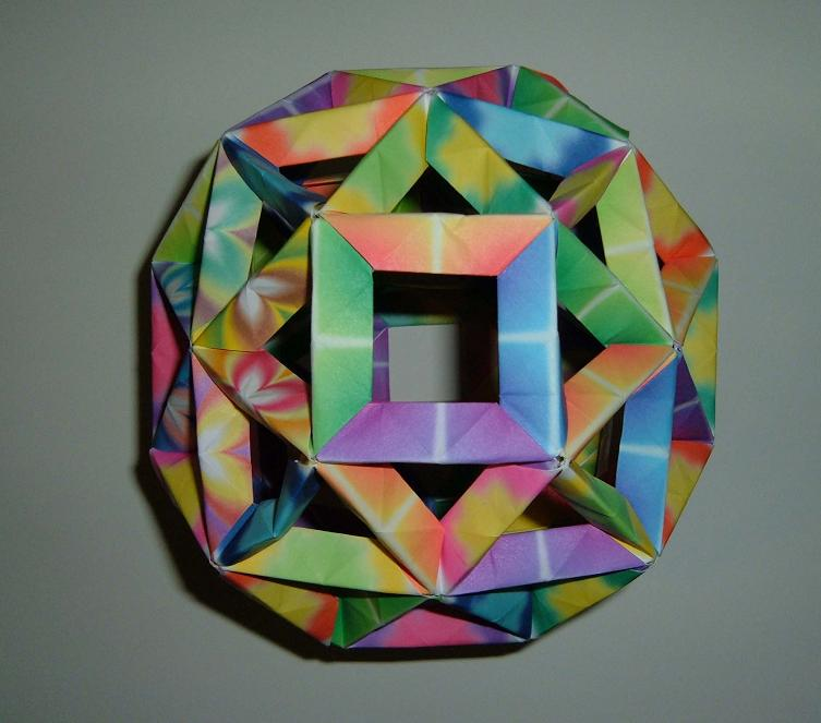 Large Modular Origami Ball By Sakura2814