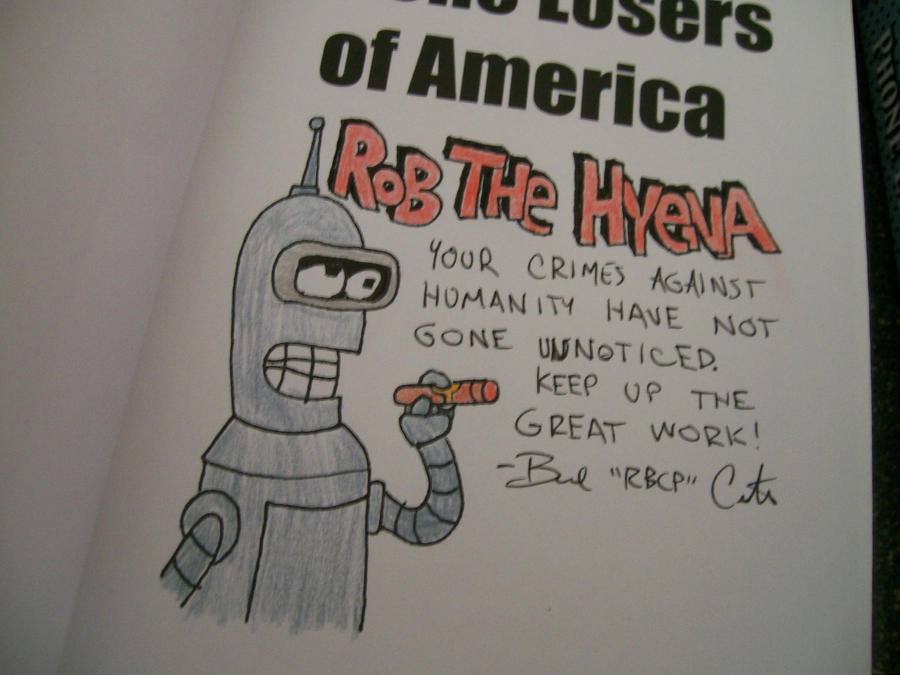 Futurama Bender by rbcp