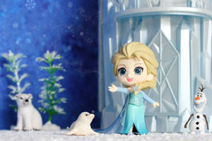 The snow glows white on the mountain tonight... by Awesomealexis1
