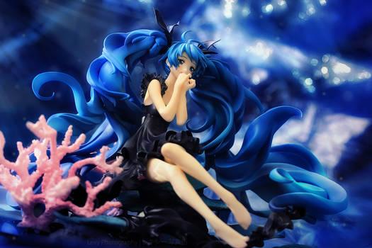 The Deep Sea Girl, sinking willfully