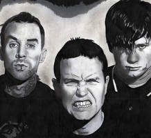 Blink -182 by Ophelia-Poe