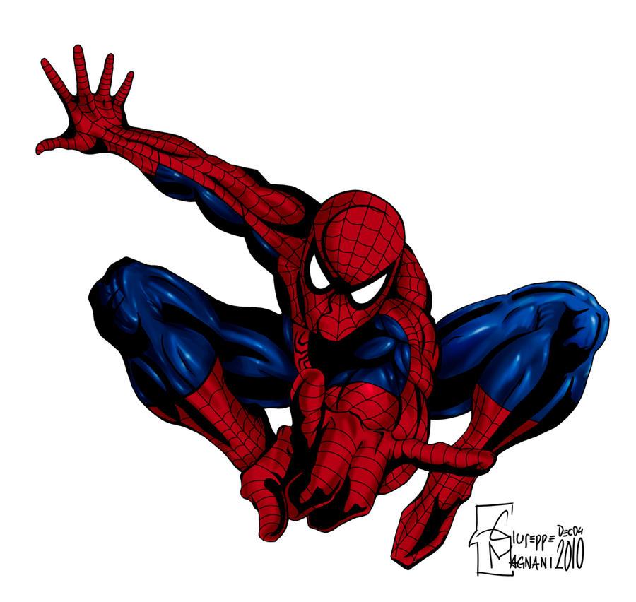 Spiderman Colors Giu By Bongiuovi On Deviantart