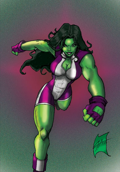 She-Hulk by J-Onix