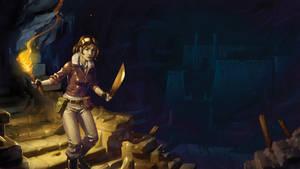 Isla Dorada- The Cave by naiiade
