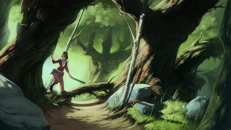 Isla Dorada- The Jungle by naiiade