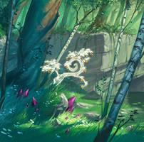 arbre de lumiere by naiiade