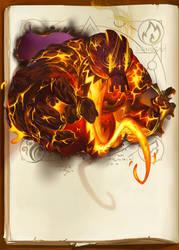 fire elemental by naiiade