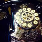 Steampunked Gotham Phone