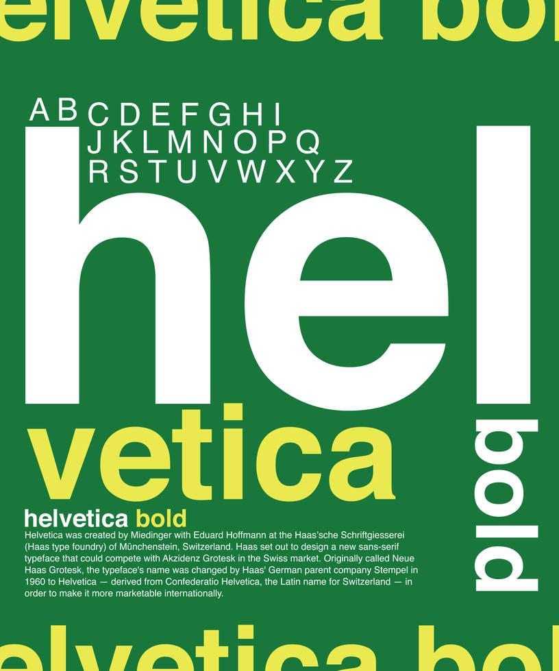 helvetica font study by ksoz on DeviantArt