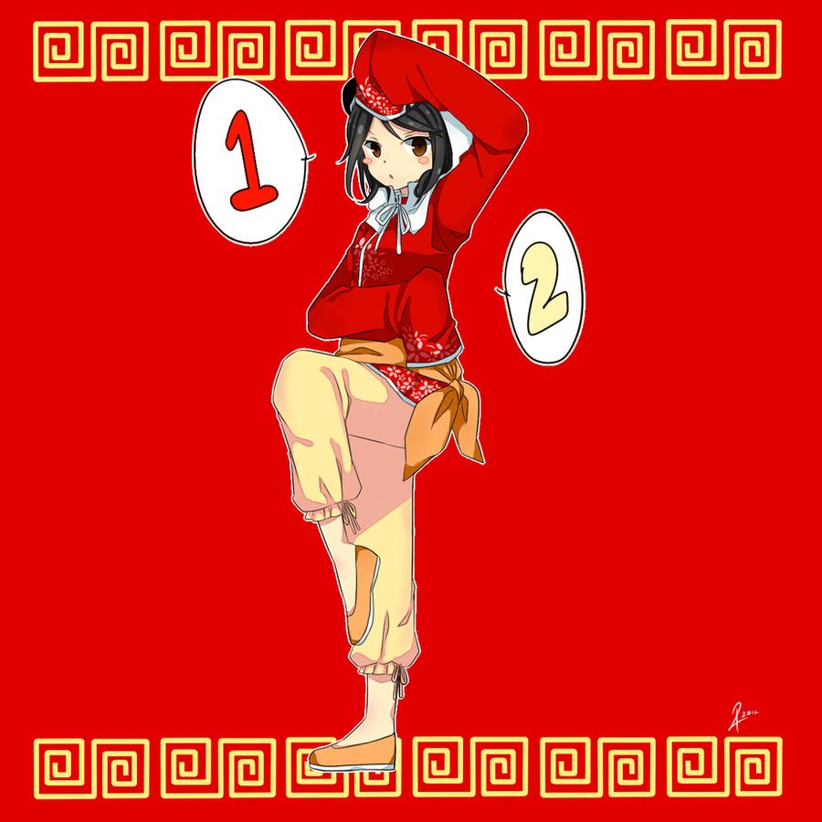new ID : HAI HAI CHINA by Nishi-me24
