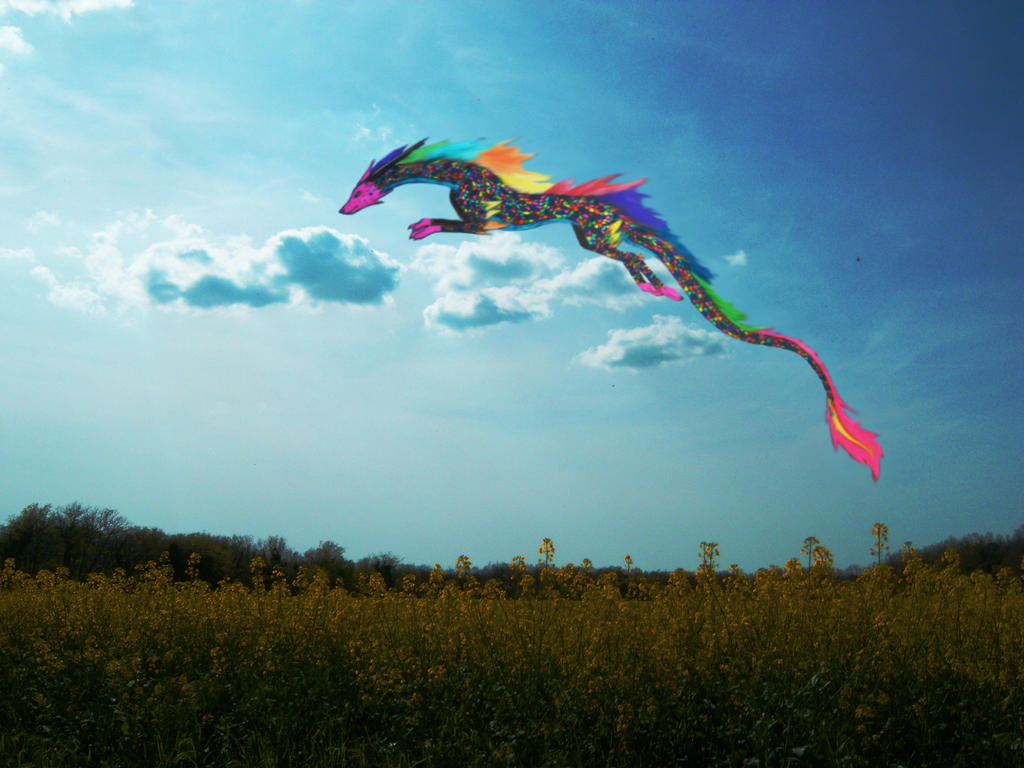 Dragon arc en ciel modifie 1 by ilikepandasandnoodle on - Dragon arc en ciel ...