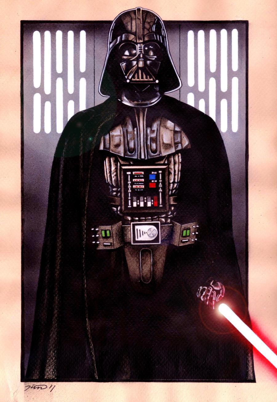 Darth Vader by MisunderstoodTim