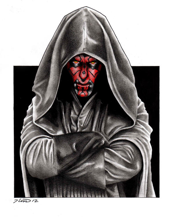 Darth Maul by MisunderstoodTim