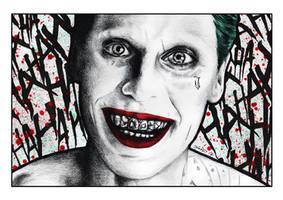 The Joker (Suicide Squad) 2016 by MisunderstoodTim