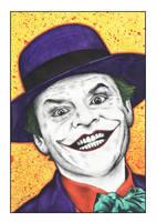 The Joker (Batman 1989) 2016 by MisunderstoodTim