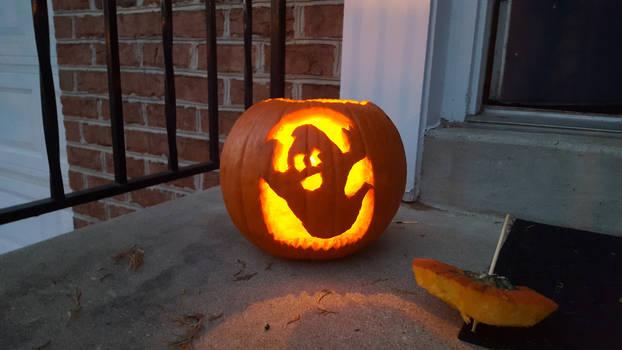 Ghost Pumpkin 2 - 2016