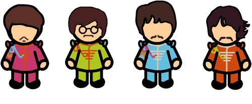 The Beatles by louisebrock82