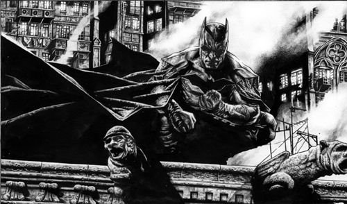 Batman Antes by GracieKarlson