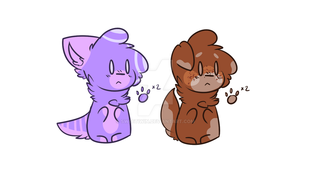 Tiny Simple Adoptables by SweetIwin