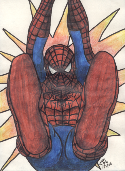 Spidey by PokeTheCactus