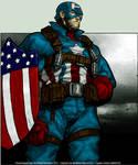 Old Skool Captain America