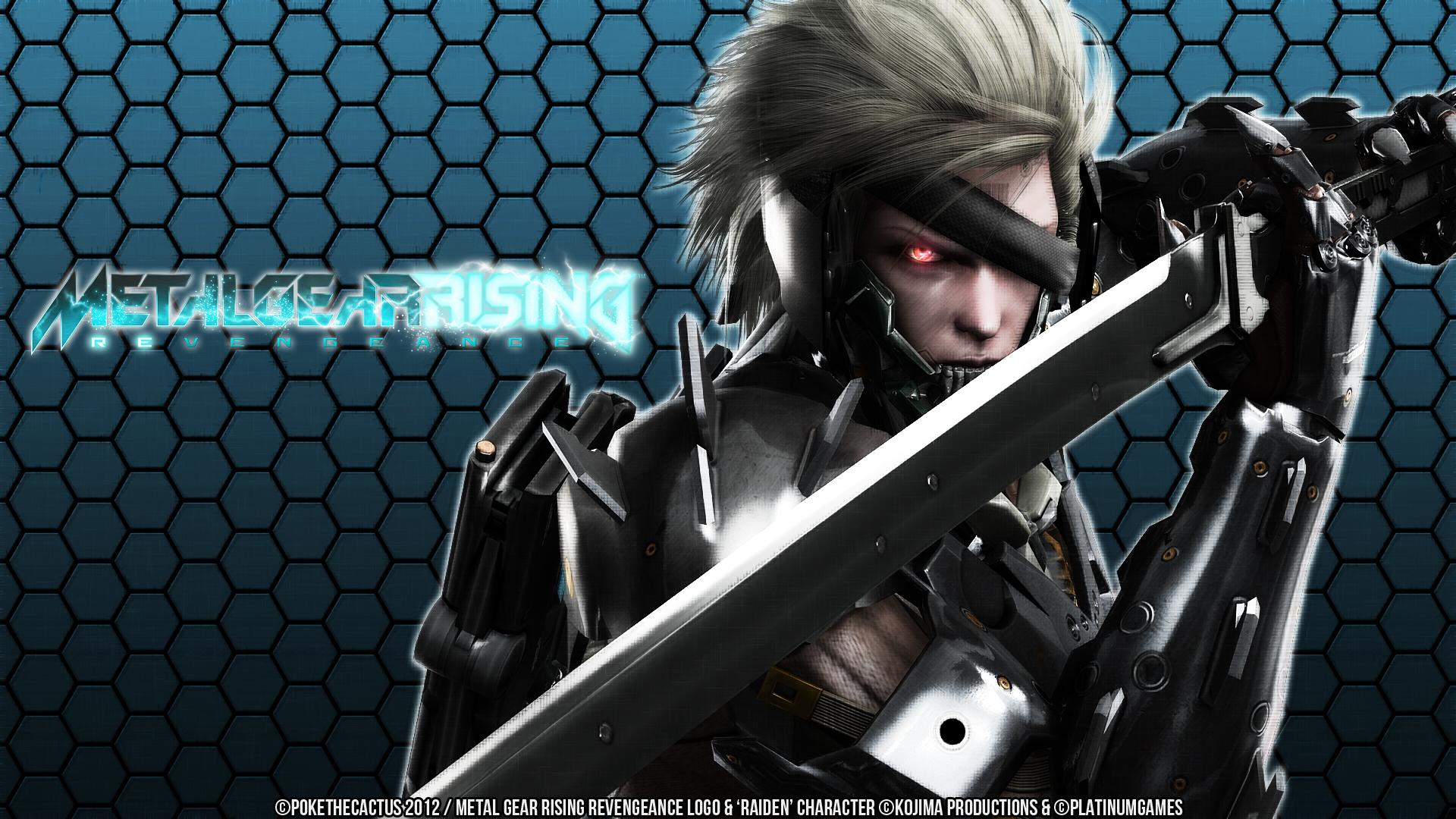 Metal Gear Rising - Raiden Wallpaper by PokeTheCactus