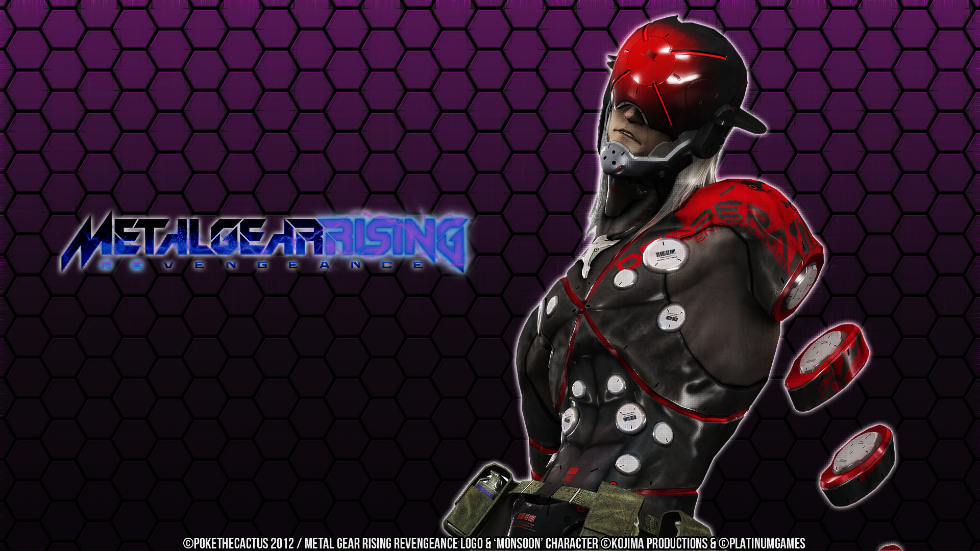 Metal Gear Rising Monsoon Wallpaper By Pokethecactus On