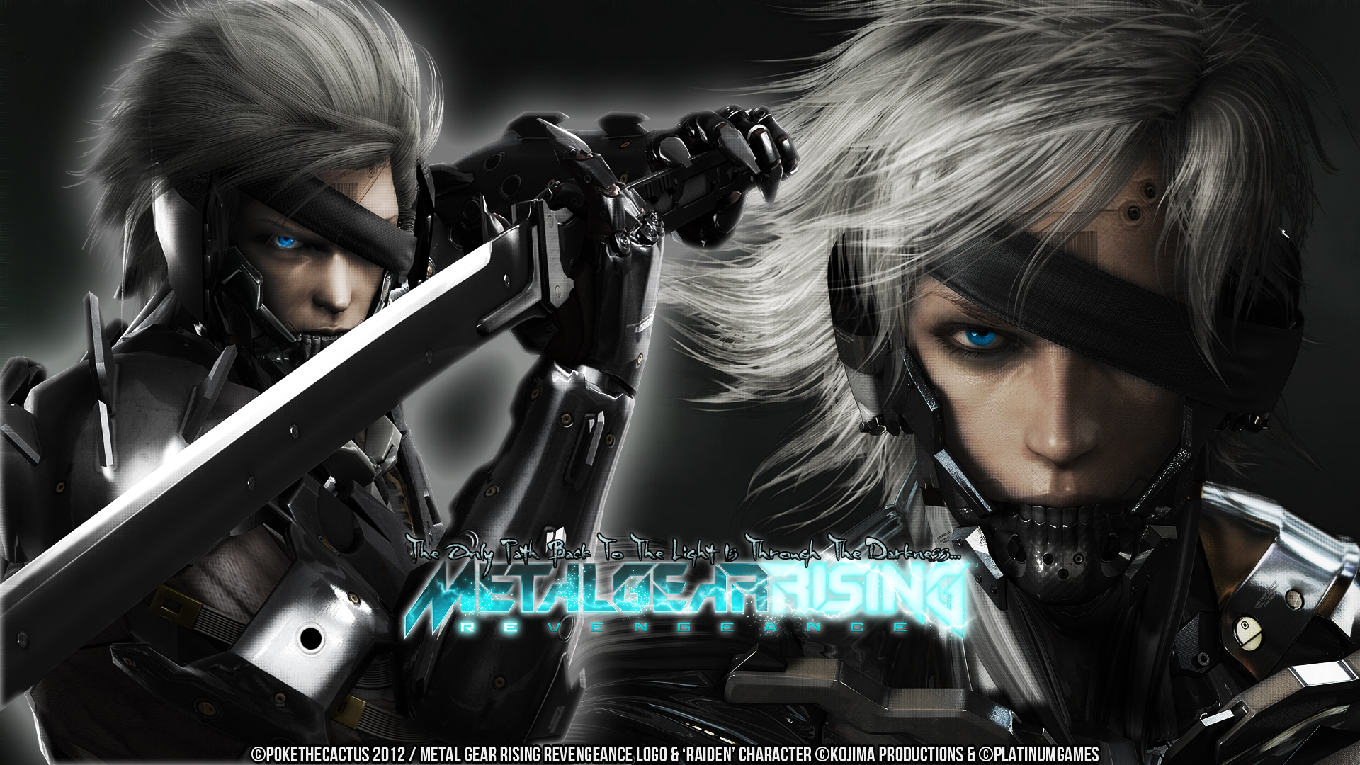 Metalgearsolidrisingrevengeance explore oniika 293 46 raiden metal gear rising wallpaper by pokethecactus voltagebd Image collections