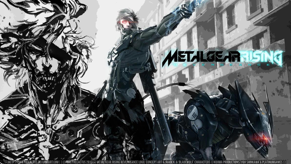 :|: REVENGEANCE :|: Raiden and Bladewolf :|: by PokeTheCactus