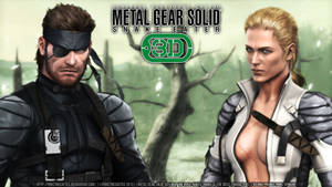 |:| MGS3D Wallpaper |:| Big Boss and Boss |:| by PokeTheCactus