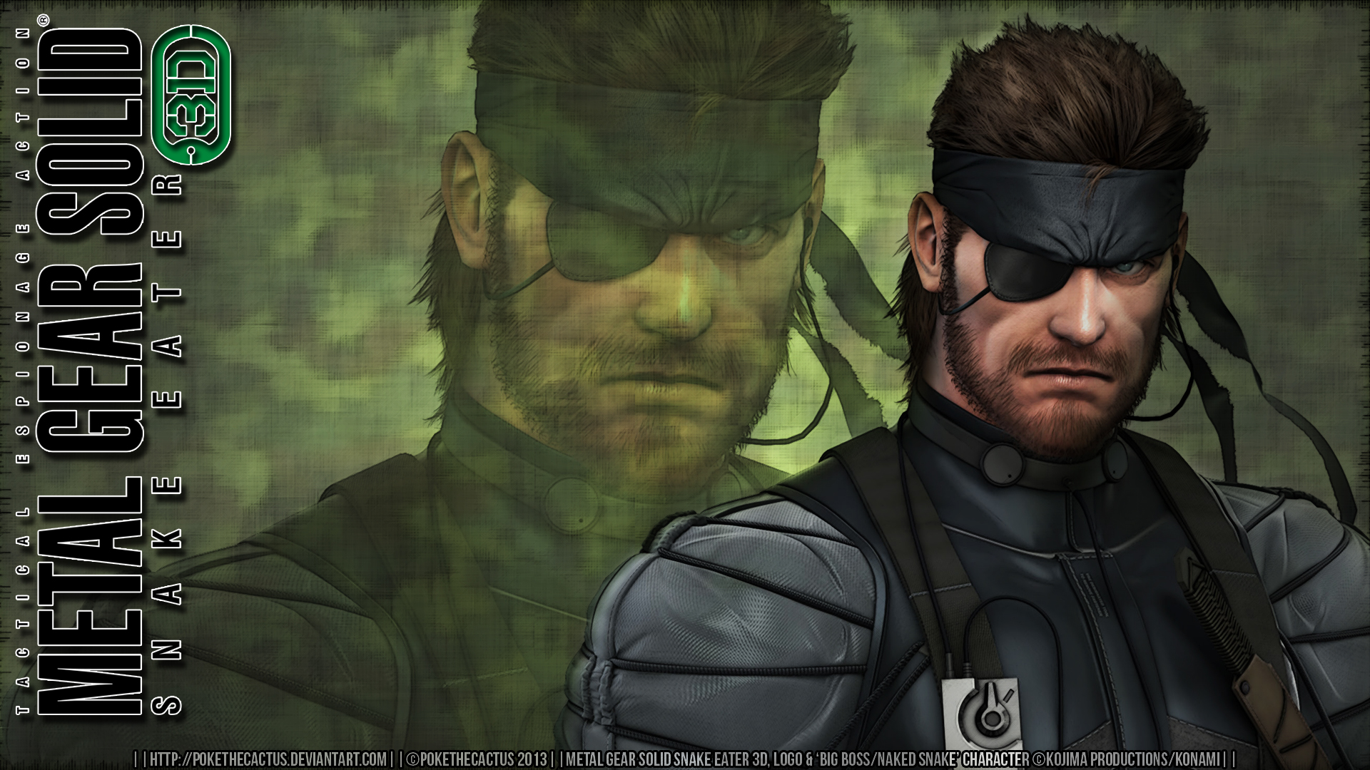 Big Boss Mgs3d Hd Wallpaper By Pokethecactus On Deviantart