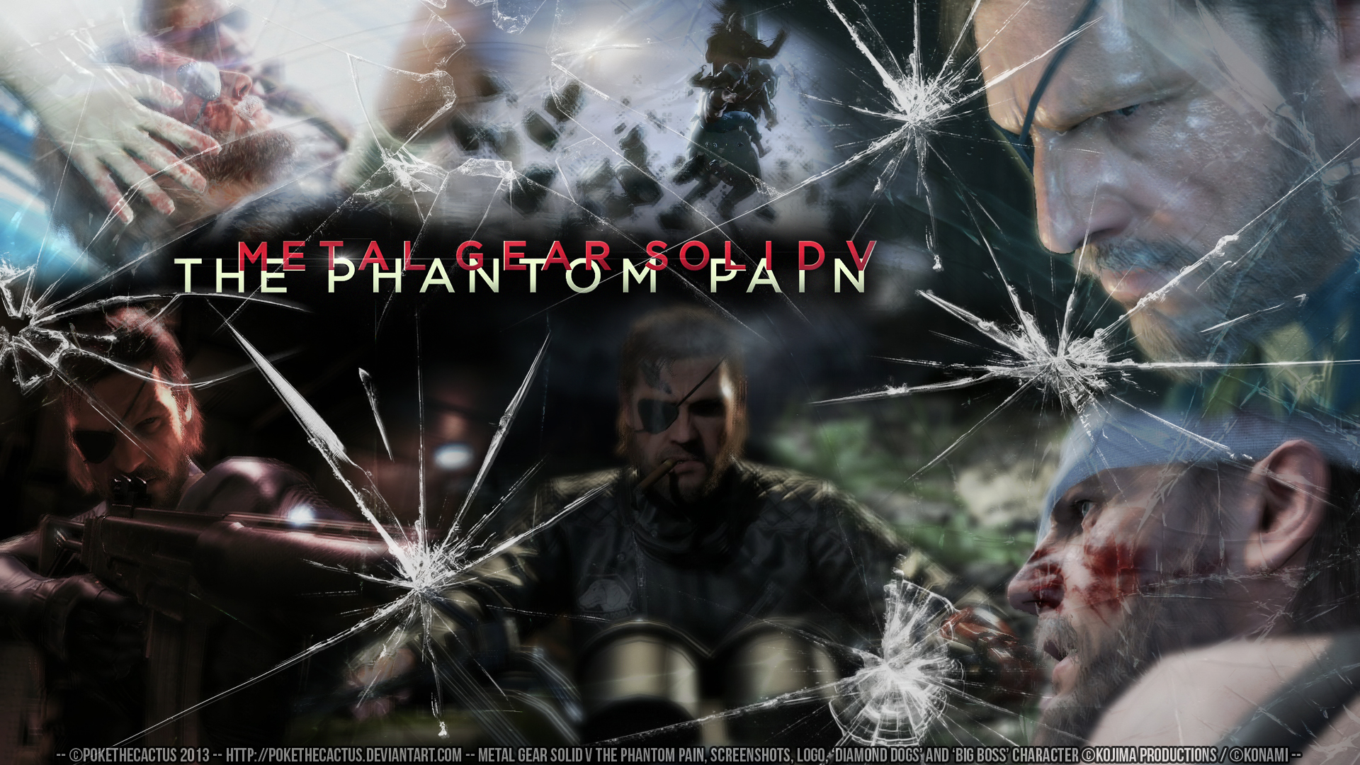 Metal Gear Solid V The Phantom Pain Wallpaper By Pokethecactus