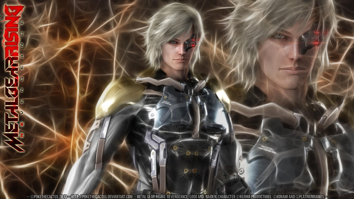 -- MGRR -- Raiden Wallpaper -- by PokeTheCactus