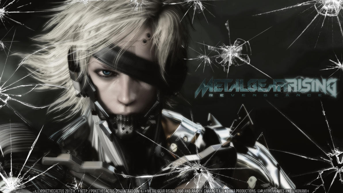 42 Hd Raiden Wallpaper On Wallpapersafari: HD Wallpaper By PokeTheCactus On DeviantArt