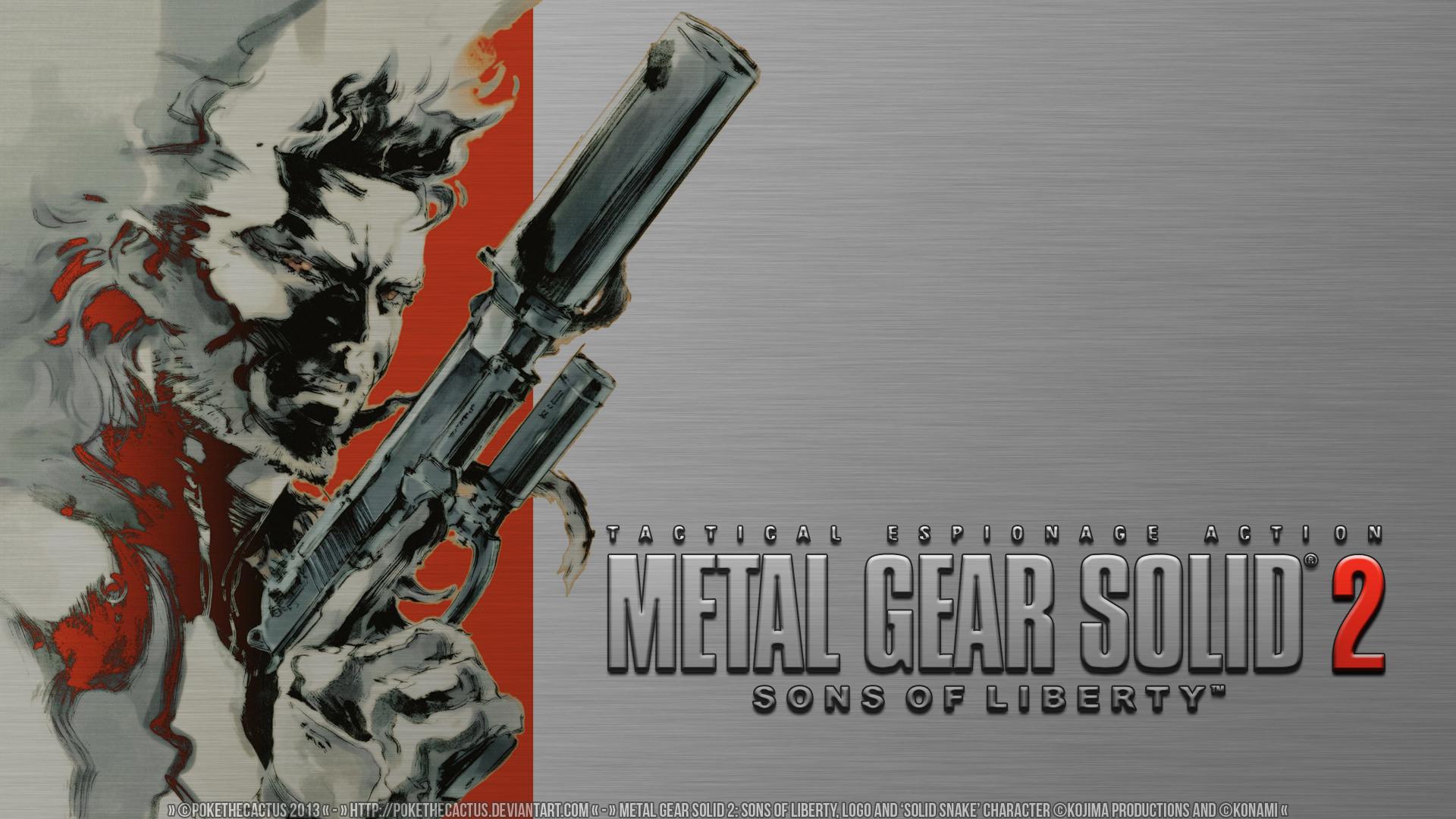 Metal Gear Solid 2 Wallpaper: Metal Gear Solid 2 HD Wallpaper By PokeTheCactus